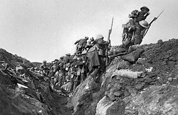 Battle of the Somme: Going over the top (Wikipedia)